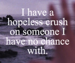 crush, love, and hopeless image