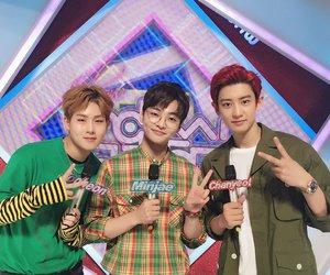 chanyeol, exo, and jooheon image