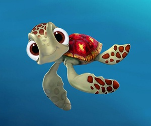 turtle, cute, and nemo image