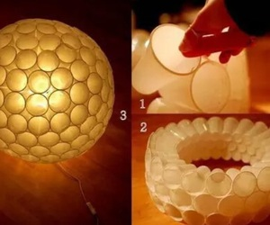 diy, lamp, and cup image