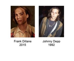 johnny depp, frank dillane, and ftwd image