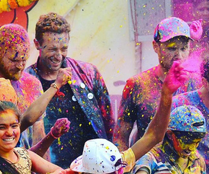 Chris Martin, coldplay, and colors image