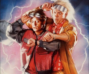 Back to the Future and illustration image