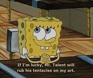 spongebob, art, and funny image