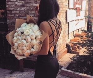 fashion, flowers, and dress image