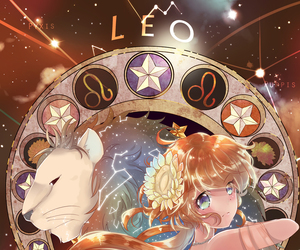 Leo, zodiac, and anime image