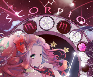 scorpio and zodiac image