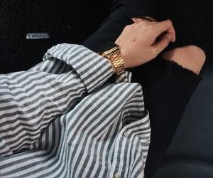 black, casio, and H&M image