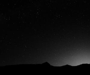 black, estrelas, and gray image