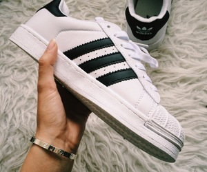 adidas, superstar, and adidas snakers image