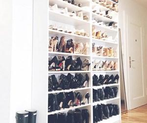 fashion, heels, and interior image