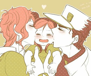 anime, couple, and illustration image