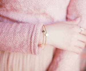 pink, bracelet, and pastel image