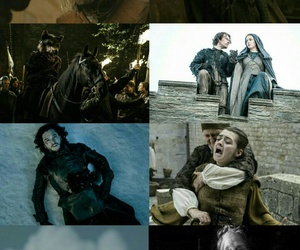 stark, arya stark, and game of thrones image