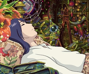 howl's moving castle, Howl, and studio ghibli image