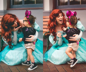 ariel, disneyland, and princess image