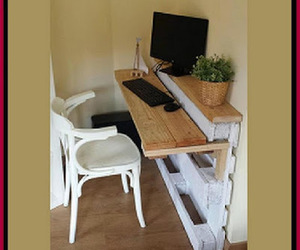 desk, pallet, and diy projects image