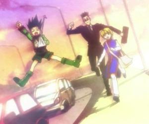 anime, love, and gon image