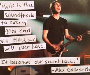 music, alex gaskarth, and all time low image