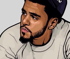 j cole and art image
