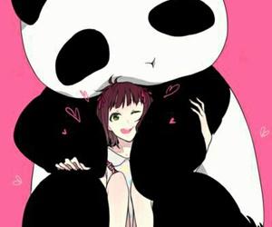 panda, kawaii, and anime image