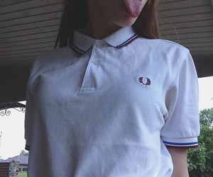 brunette, girl, and Polo image