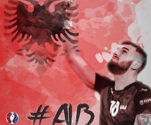 euro2016, albania, and alb image