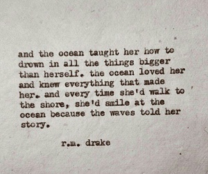 quotes, rmdrake, and ocean image