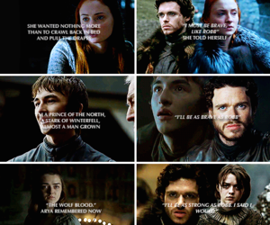 game of thrones, got, and robb stark image
