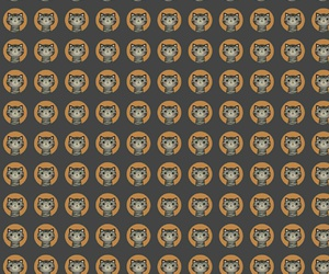 brown, cat, and pattern image