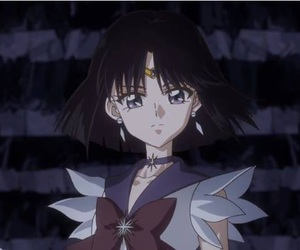 sailor moon, anime, and sailor saturn image