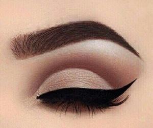 beauty, eyes, and fashion image