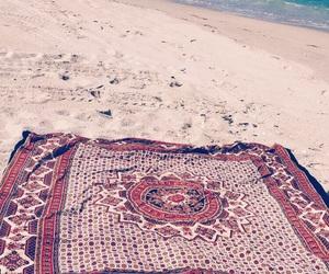 beach, blanket, and florida image