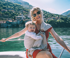baby, blonde, and italy image