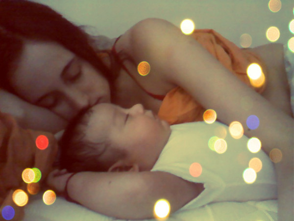 baby, bed, and faith image