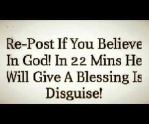 god, repost, and believe image
