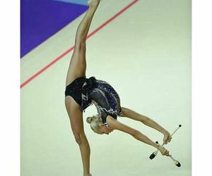 clubs, flexibility, and gymnastics image
