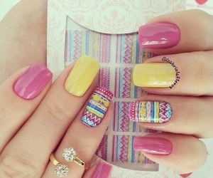 beauty, color, and nail art image