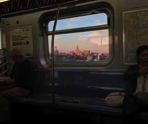 city, tumblr, and train image