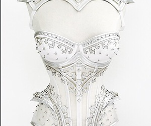 corset, white, and steampunk image