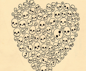 skull and heart image