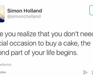 funny and cake image