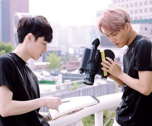 boys, scenary, and yixing image