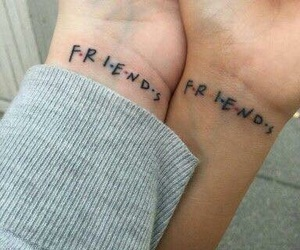 ink, tattoo, and friends image