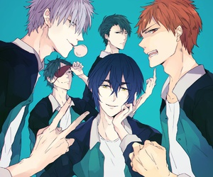 anime, knb, and kuroko no basket image