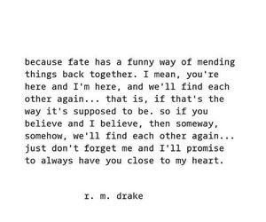 couple, fate, and heartbreak image