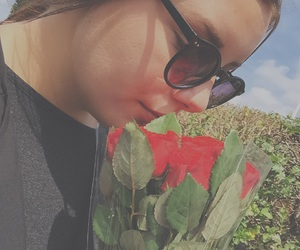 fame, flowers, and red image