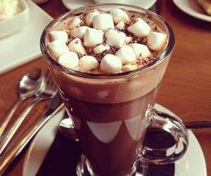 chocolate, drink, and food image