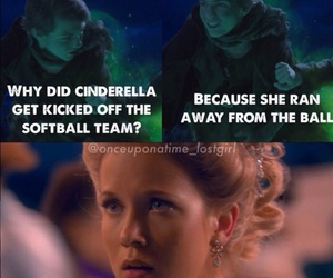 cinderella, once upon a time, and peter pan image