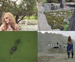 green, ahs, and misty day image
